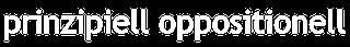 prinzipiell oppositionell Logo